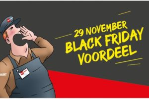 Supers stappen massaal in Black Friday-gekte