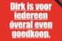 Dirk hekelt in krant prijsstrategie Jumbo