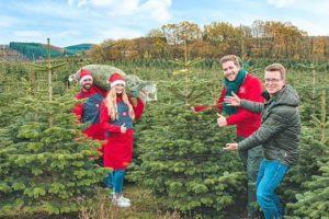 Picnic (D) gaat kerstbomen bezorgen