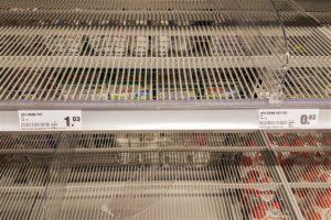 Schouten: geen zorgen om lege schappen