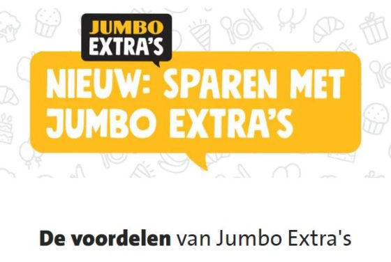 Jumbo rolt loyalty-app Extra's uit