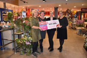 Actie Deen haalt €21.600 op voor Pink Ribbon
