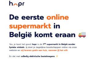 Hopr Belgisch antwoord op Picnic