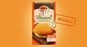 Recall: Mora Kipburger bevat melkeiwit